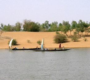 Timbuktu, Dunes along the Niger River