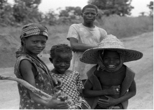 Chidren in Togo