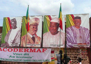 The four presidents of Mali, 1960-2010