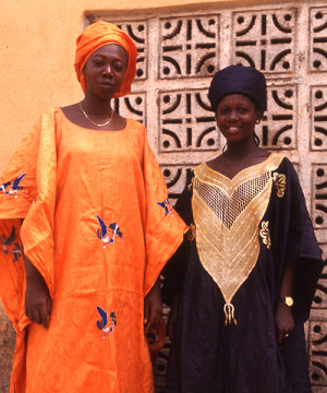 Mama Traore and daughter Effie