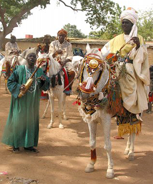 Costumes for Horses and Jockies, Segou